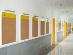 北京市新英才学校软木板