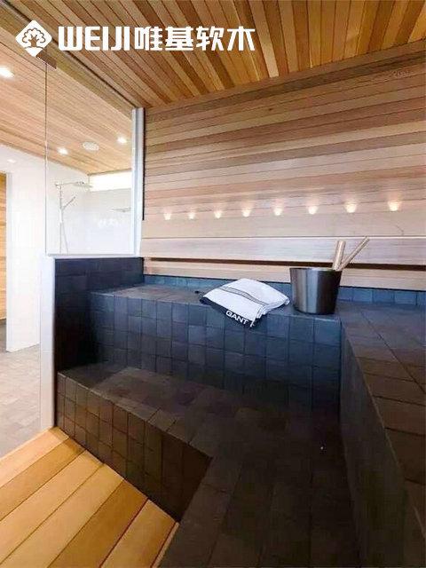 卫浴软木地板湿区系列