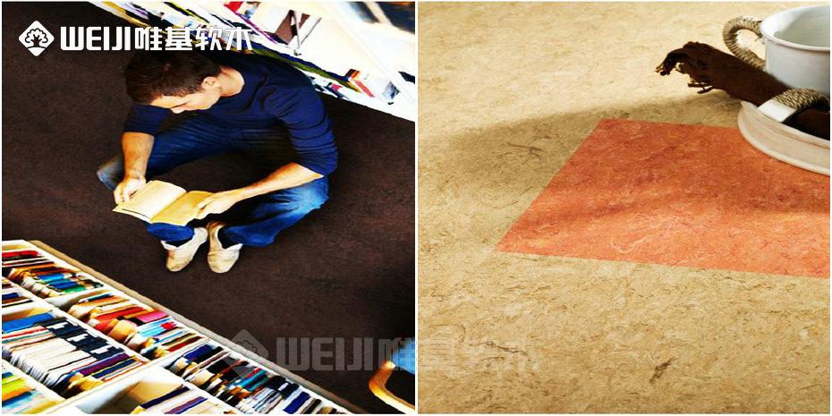 软木亚麻地板