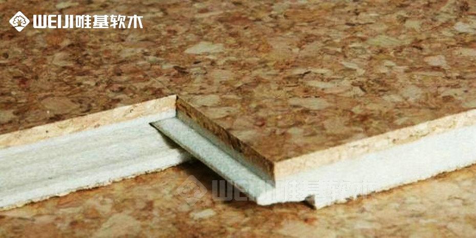 spc软木地板结构
