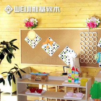 幼儿园软木板
