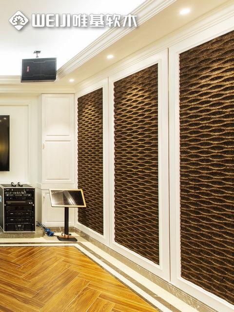 碳化软木墙板3d系列
