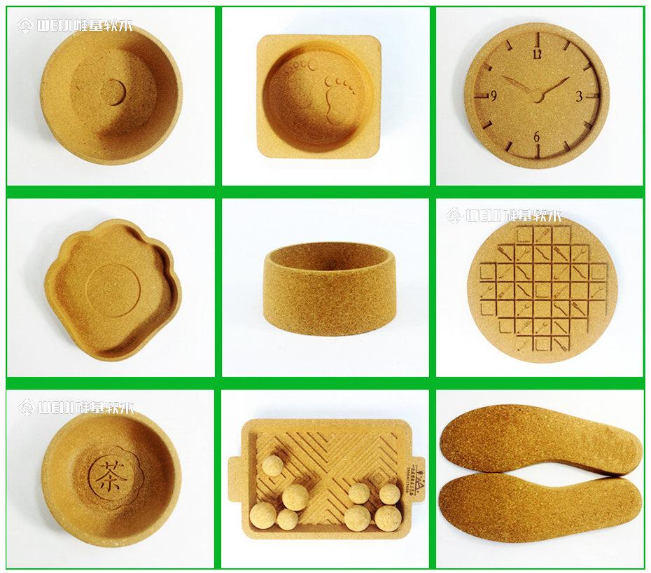 软木片材加工