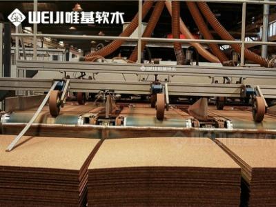 唯基软木片材工厂