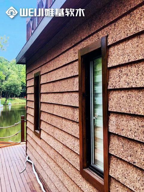隔热软木板木结构建筑解决方案