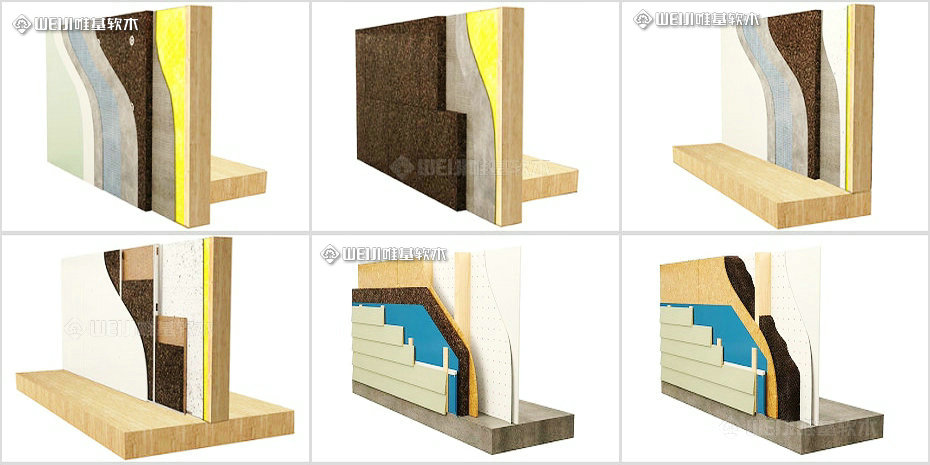 隔热保温软木板