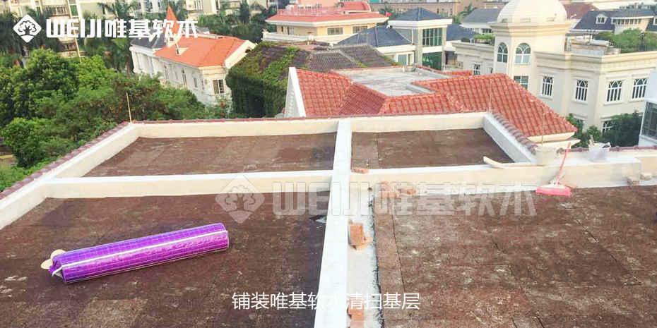隔热软木板屋顶面