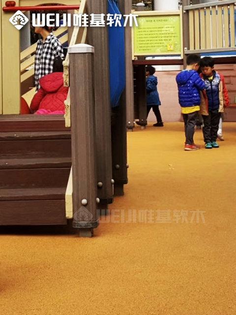 生态软木地面儿童乐园系列