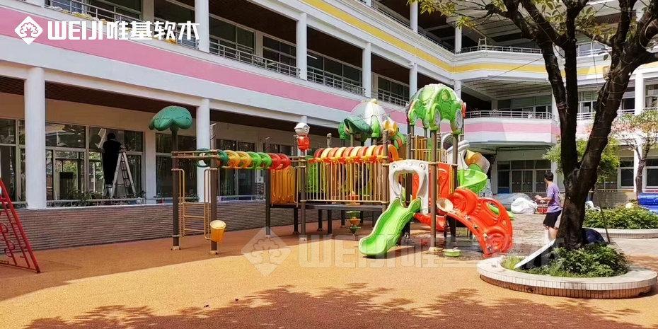 生态软木地面儿童乐园