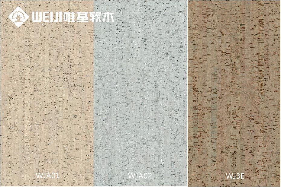 进口软木墙板