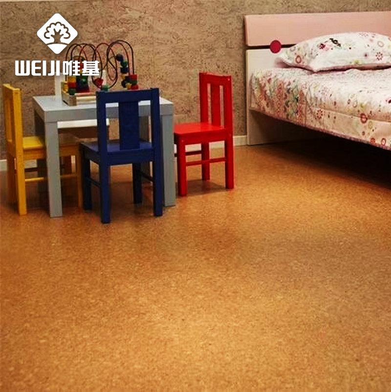 软木地板墙板一体化